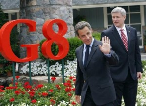 Leaders at the G8 Summit